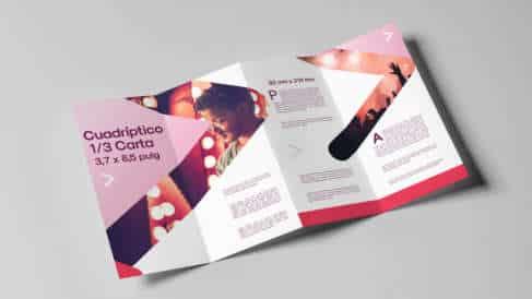 imprimir folletos cuadrípticos BucoPrint
