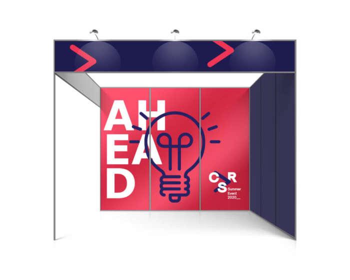 vinil adhesivo para stand BucoPrint